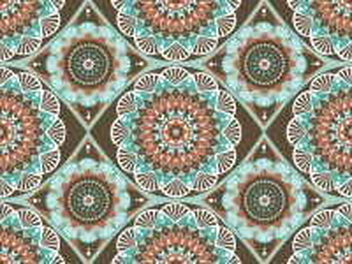 Собирать пазл Symmetrical pattern онлайн