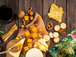 Собирать пазл Cheese biscuits онлайн