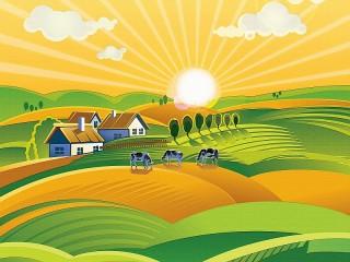 Собирать пазл Solar farm онлайн