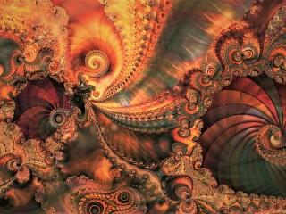 Собирать пазл Spiral patterns онлайн