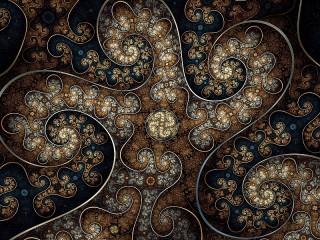 Собирать пазл Spiral octopus онлайн