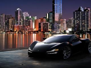 Собирать пазл Sports car онлайн