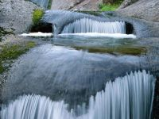 Собирать пазл Flowing water онлайн