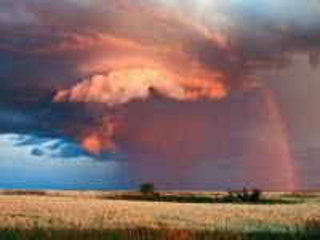 Собирать пазл Cloud and rainbow онлайн