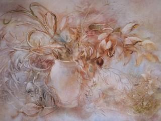 Собирать пазл Misty flowers онлайн