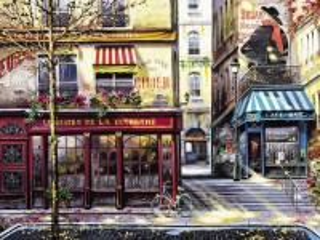 Собирать пазл Area Of Paris онлайн