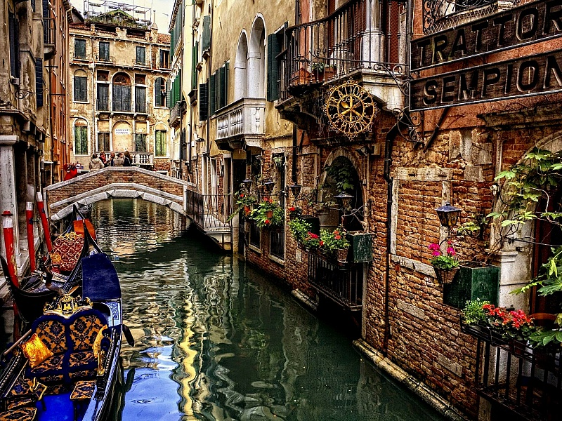 Puzzle Sammeln Puzzle Online - Venetsianskaya ulochka