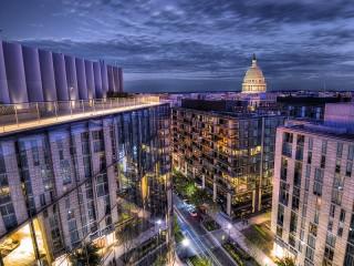 Собирать пазл The view of the Capitol онлайн