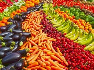 Собирать пазл Vitamin rainbow онлайн