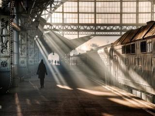 Собирать пазл Vitebsk railway station онлайн