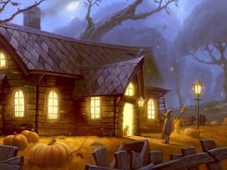 Собирать пазл Volshebniy dom онлайн