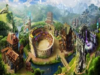 Собирать пазл magic city онлайн