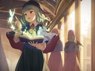 Собирать пазл The magic of reading онлайн