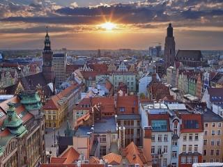 Собирать пазл Wroclaw онлайн