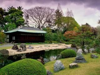 Собирать пазл Japan garden онлайн