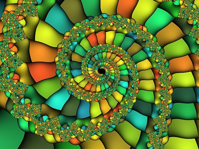 Puzzle Sammeln Puzzle Online - Yarkiy fraktal