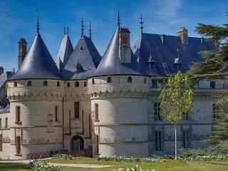 Собирать пазл Chaumont-sur-Loire castle онлайн