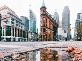 Собирать пазл Winter city онлайн