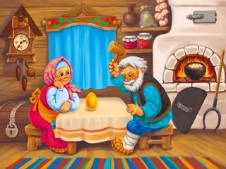 Собирать пазл Zolotoe yaichko онлайн
